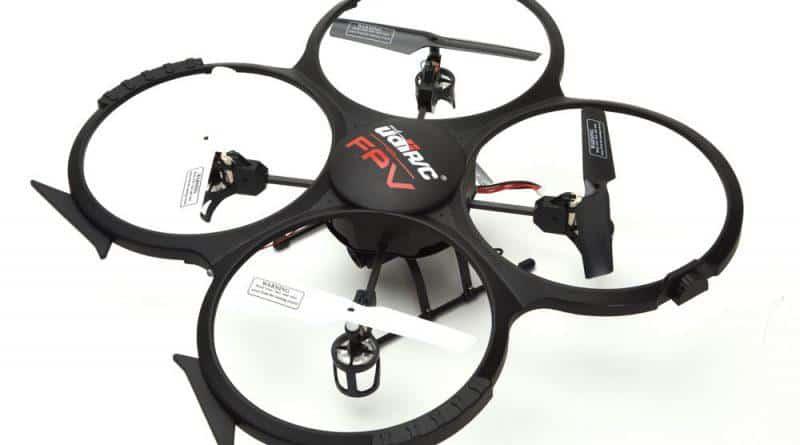 UDI U818A drone