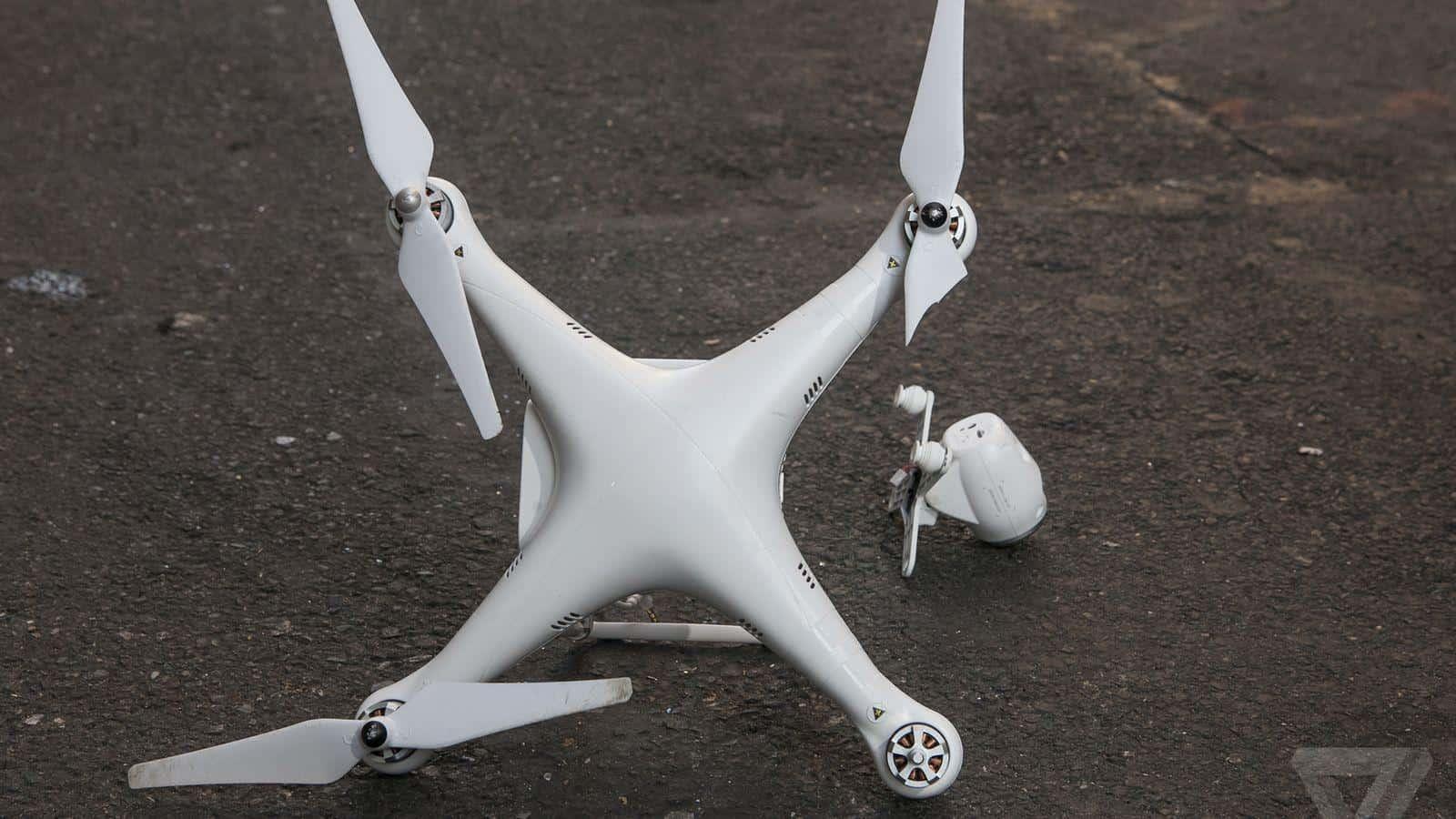 Un homme emprisonné pour avoir accidentellement blessé une femme avec un drone
