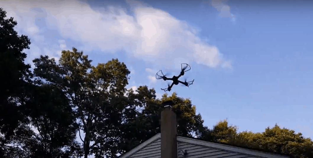 cyclone drocon x708 en vol