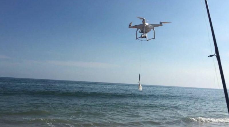 drone de peche