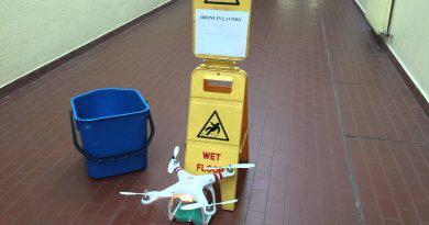 nettoyage de drone