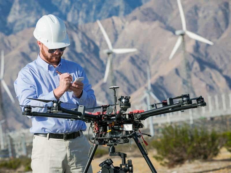 vérification drone