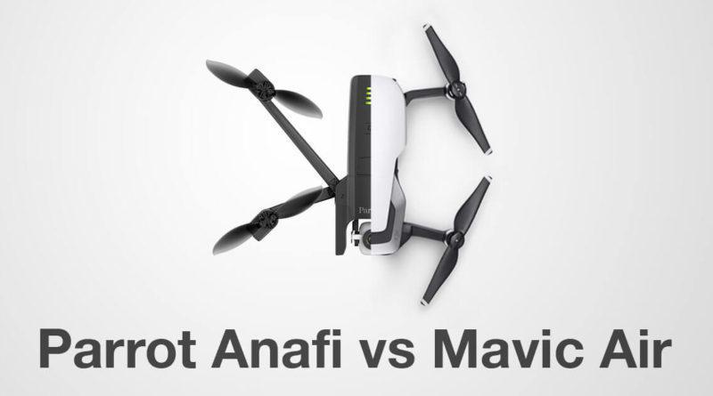 Parrot vs MAvic