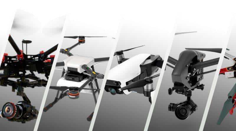 [Comparatif] Quel est le meilleur drone grand public 2018?