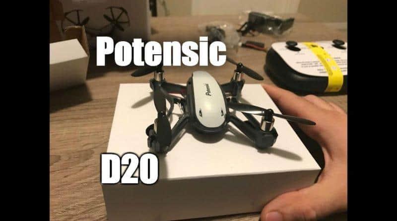 Potensic D20 : test du quadricoptère avec caméra FPV