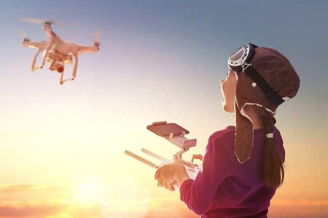 Drone pour enfant entre 6 et 8 ans