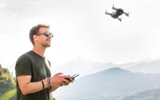 Drone caméra longue portée