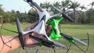 JJRC H31 blanc vert