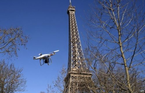 Faire voler son drone a paris