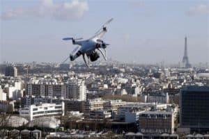 Faire voler un drone a Paris